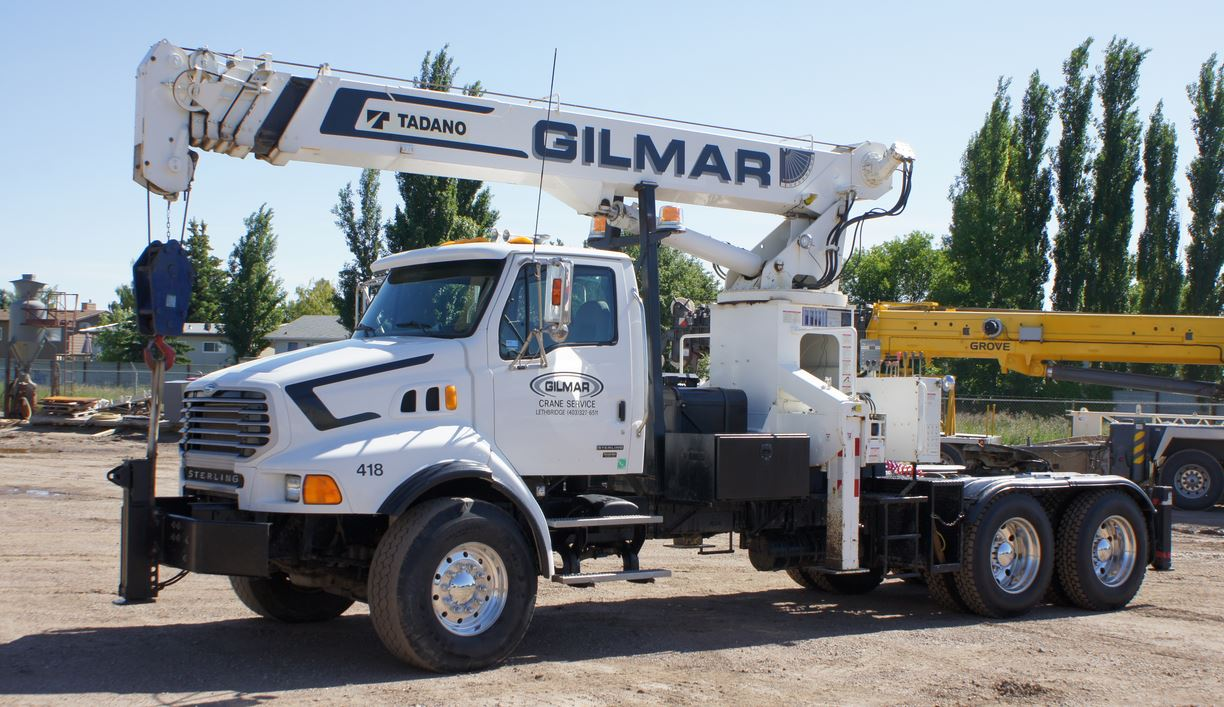 Boom Truck used for Crane Services