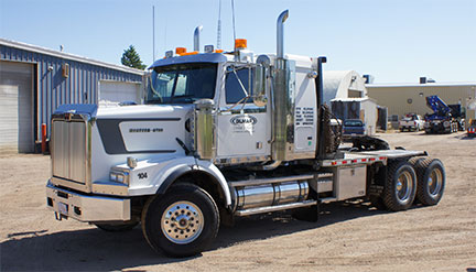 Western Star Heavy Haul Winch Truck