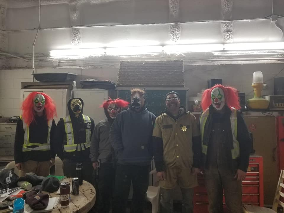 Happy Halloween from the Gilmar Crane Iron Crew.