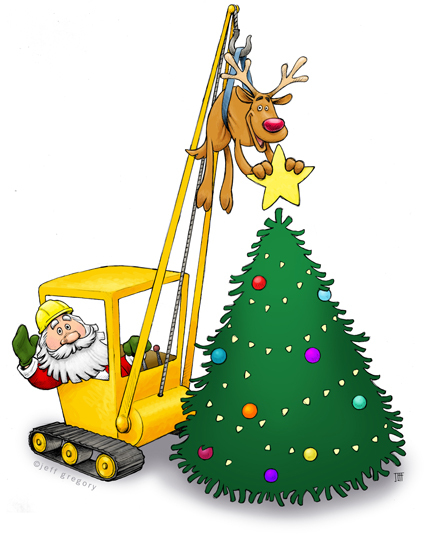 Merry Christmas from Gilmar Crane Services