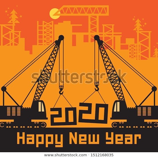 Happy New Year from Gilmar Crane