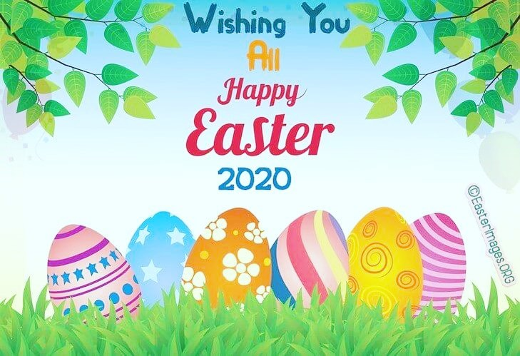 Happy Easter from Gilmar Crane 2020