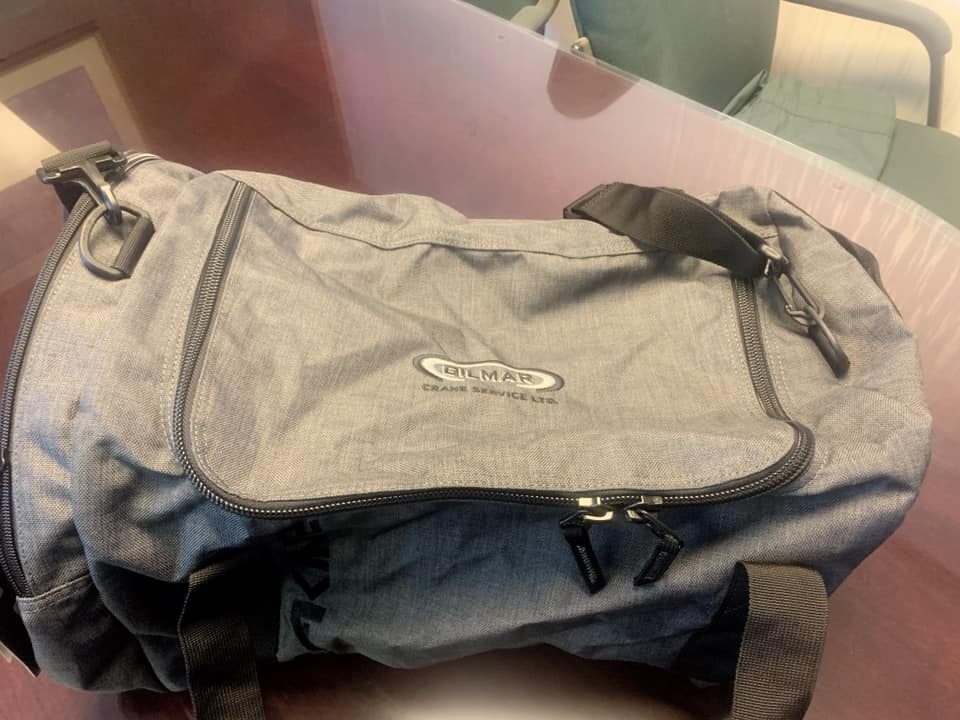 Overnight bag giveaway