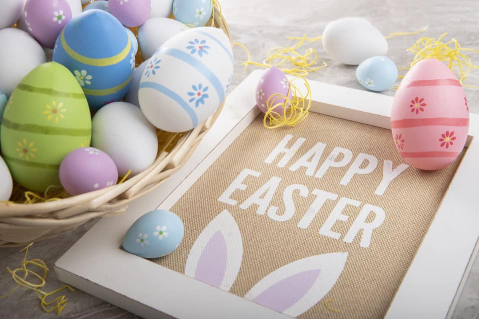 Happy Easter from everyone at the Gilmar family